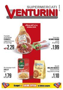 thumbnail of Volantino Supermercato Venturini DUE CARRARE_01.10-14.10.2020